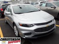 2017+Chevrolet+Malibu+LT+In+Silver+Ice+Metallic.+You+NE