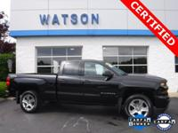 CLEAN CARFAX / 1 OWNER, GM CERTIFIED, BLUETOOTH, DOUBLE