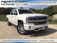 Options:  2017 Chevrolet Silverado 1500 High