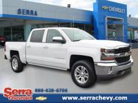 This 2017 Silverado 1500 2WD Crew Cab LT is a 5.3L V8