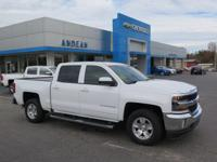 Options:  2017 Chevrolet Silverado 1500 Lt|White|6