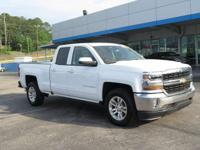 Clean CARFAX. Summit White 2017 Chevrolet Silverado