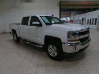 Summit White 2017 Chevrolet Silverado 1500 LT LT1 4WD