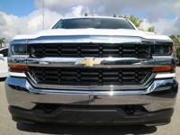 Options:  2017 Chevrolet Silverado 1500 4X4 Crew Cab