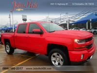 This toy-hauling 2017 Chevrolet Silverado 1500 LT, with