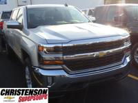 2017+Chevrolet+Silverado+1500+LT+In+Silver+Ice+Metallic