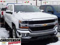 2017+Chevrolet+Silverado+1500+LT+In+Summit+White.+4x4%2