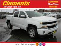 Options:  2017 Chevrolet Silverado 1500 Lt|4 Wheel