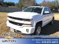 This new Chevrolet Silverado 1500 CREW CAB 4WD 143.5^^'