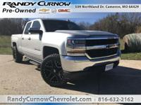 Options:  2017 Chevrolet Silverado 1500 Lt|Silver Ice