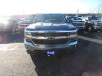 This is the new 2017 Chevrolet Silverado 1500 4WD LT