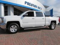 2017 Chevrolet Silverado 1500 LT LT1 RWD White 6-Speed