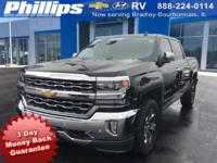 2017 Chevrolet Silverado 1500 LTZ 1LZ Black 3-DAY MONEY