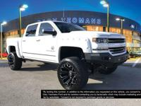 Summit White 2017 Chevrolet Silverado 1500 LTZ Lifted