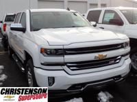 2017+Chevrolet+Silverado+1500+LTZ+In+Summit+White.+4+Wh