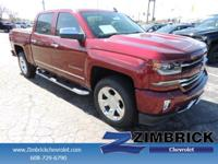 Options:  2017 Chevrolet Silverado 1500 4Wd Crew Cab