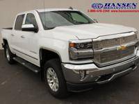 CARFAX One-Owner. Clean CARFAX. White 2017 Chevrolet
