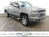 Certified. Pepperdust Metallic 2017 Chevrolet Silverado