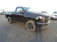 This is the new 2017 Chevrolet Silverado 1500 4WD 1WT