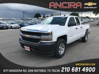 This new Chevrolet Silverado 1500 WT is now for sale in