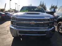 Options:  2017 Chevrolet Silverado 2500Hd Lt|Summit