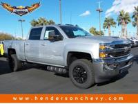 This Chevrolet Silverado 2500HD boasts a Turbocharged
