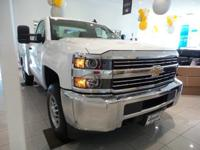 This Chevrolet Silverado 2500HD boasts a Gas/Ethanol V8