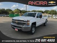 This new Chevrolet Silverado 2500HD WT is now for sale