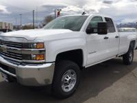 Introducing the 2017 Silverado2500 HD. With new