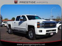 New Price! Summit White 2017 Chevrolet Silverado 3500HD