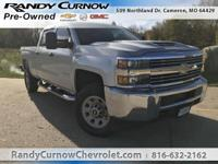 Options:  2017 Chevrolet Silverado 3500Hd Wt|Silver Ice