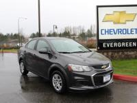 Options:  2017 Chevrolet Sonic Ls|Gray| Price Includes: