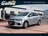 Look at this 2017 Chevrolet Sonic LS. Its Automatic