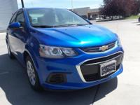 Check out this 2017 Chevrolet Sonic LS. Its Automatic