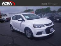 Used 2017 Chevrolet Sonic Hatchback, stk # 18829, key