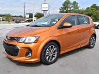 CarFax 1-Owner, LOW MILES, This 2017 Chevrolet Sonic LT