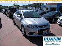 Options:  2017 Chevrolet Sonic Lt Auto|Silver|Are You