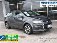 CARFAX One-Owner. Clean CARFAX. Certified. Gray 2017