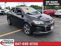 2017 Chevrolet Sonic Premier CARFAX One-Owner. Clean