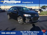 2017 Chevrolet Sonic Premier FWD 6-Speed Automatic