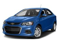 Gray 2017 Chevrolet Sonic Premier FWD 6-Speed Automatic