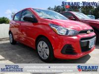 LOW MILEAGE 2017 CHEVY SPARK LS**CLEAN CAR FAX**Boasts
