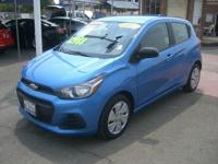 Options:  2017 Chevrolet Spark Ls|Splash/Jet Black|V4
