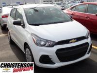 2017+Chevrolet+Spark+LS+In+Summit+White.+Attention%21+D
