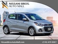 New Price! Silver Ice 2017 Chevrolet Spark 1LT FWD CVT