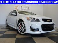 Options:  2017 Chevrolet Ss Base|White|Priced Below Kbb