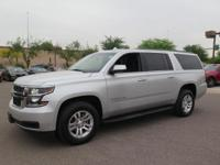 Options:  2017 Chevrolet Suburban Lt|Silver|New Price!