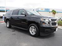 Come see this 2017 Chevrolet Suburban LT. Its Automatic