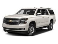 Black 2017 Chevrolet Suburban LT 6-Speed Automatic
