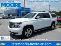 Check out this gently-used 2017 Chevrolet Suburban we